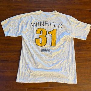 SAN DIEGO PADRES Hall of Fame DAVE WINFIELD Shirt